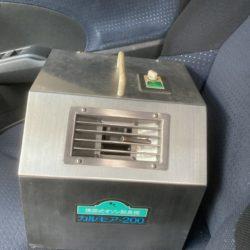 レンタカー清掃でオゾン脱臭してます!
