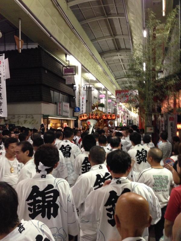 祇園祭のあと祭りだよ☆*:.。. o(≧▽≦)o .。.:*☆