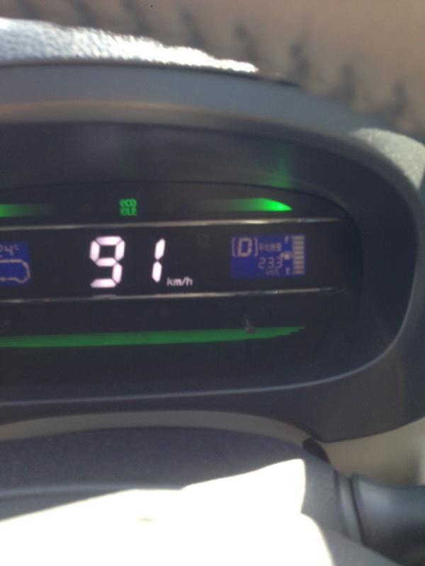 燃費にチャレンジ